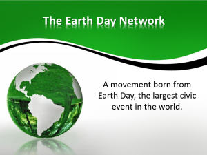 Earth day powerpoint image